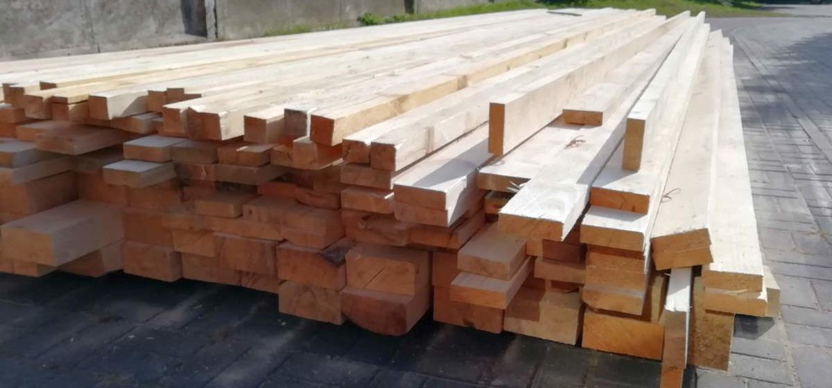 В Барановичском лесхозе возводят новый деревоперерабатывающий цех