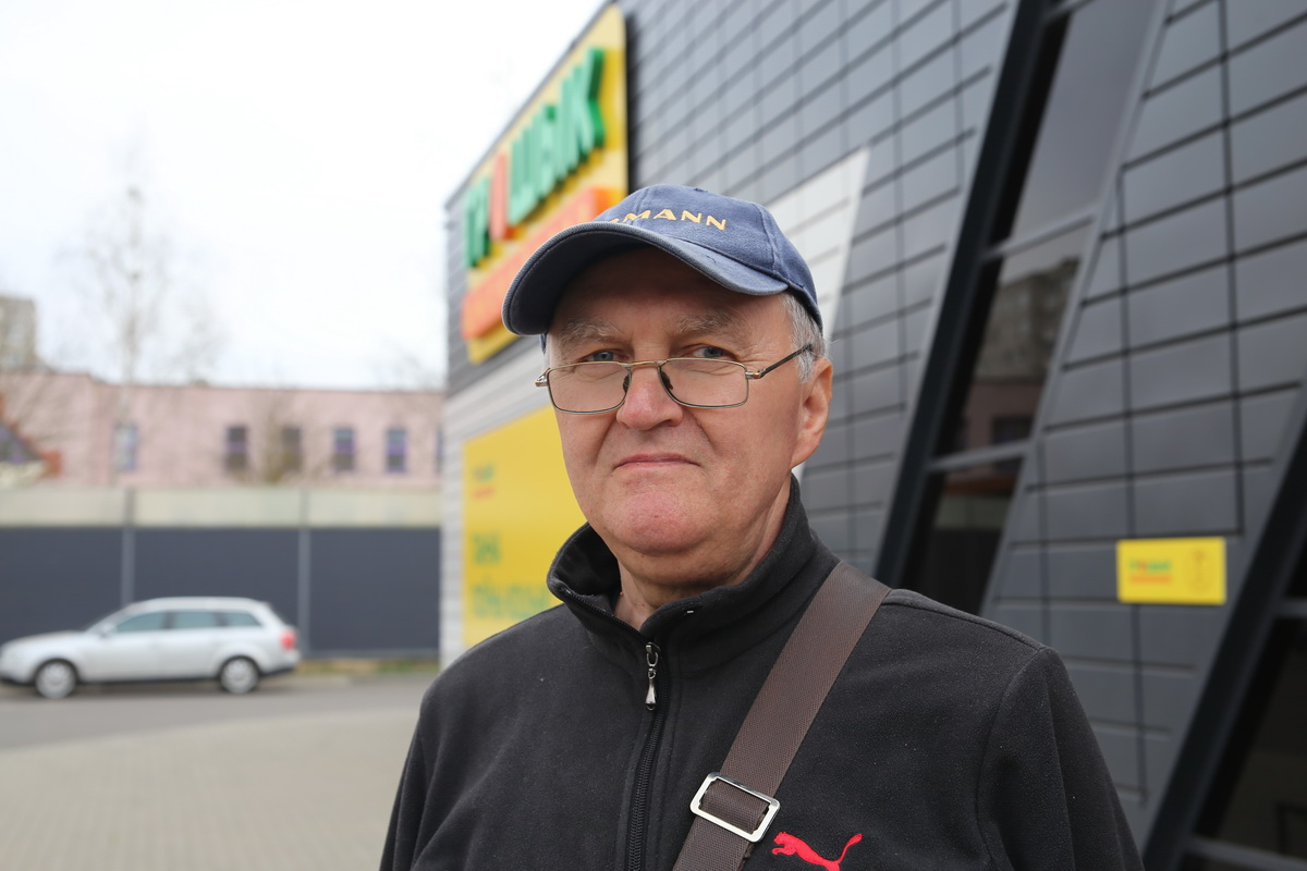 Короткевич Виктор Антонович пенсионер Фото: Андрей БОЛКО