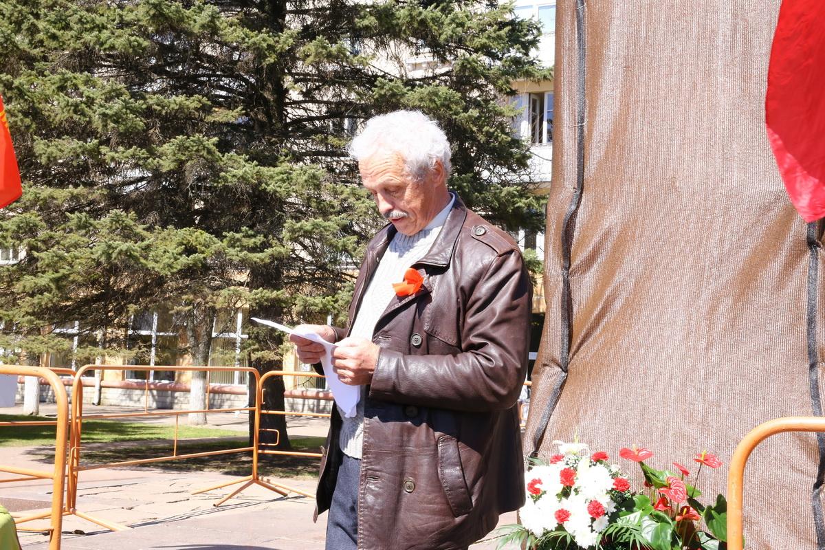 Анатолий Плотников выступил с приветственным словом. Фото: Татьяна МАЛЕЖ