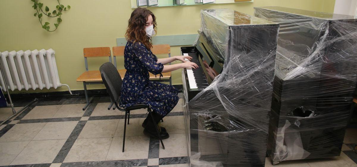 Новые инструменты появились в Барановичском музыкальном колледже