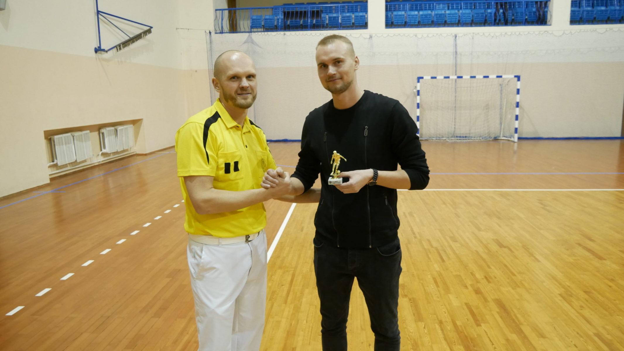 """Сергей Найденко (""""Кола"""") – один из трех спортсменов, признанных самым полезным игроком чемпионата."""