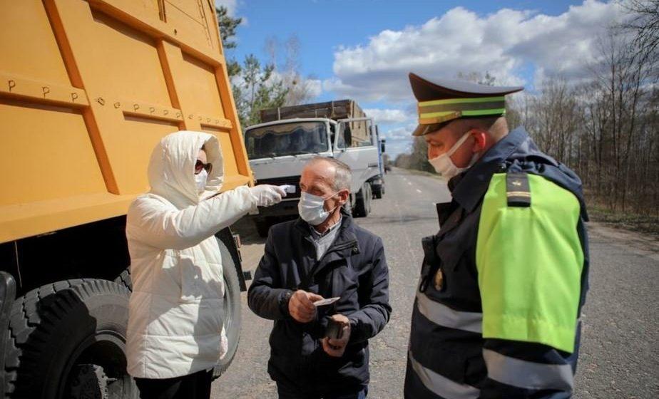 На въезде в Барановичи выставят посты ГАИ с медиками из-за ситуации с коронавирусом