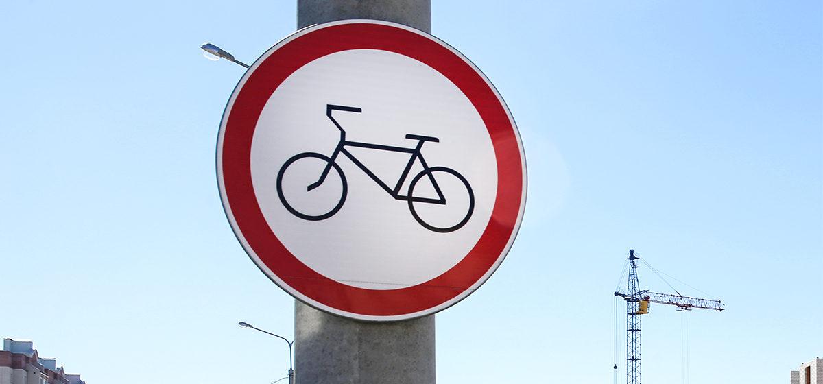 Пятилетний мальчик из Слуцка проехал на велосипеде три километра по трассе в сторону Минска. Видео