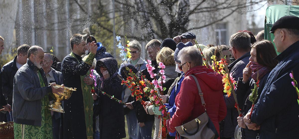 Как Вербное воскресенье празднуют в Барановичах. Фоторепортаж