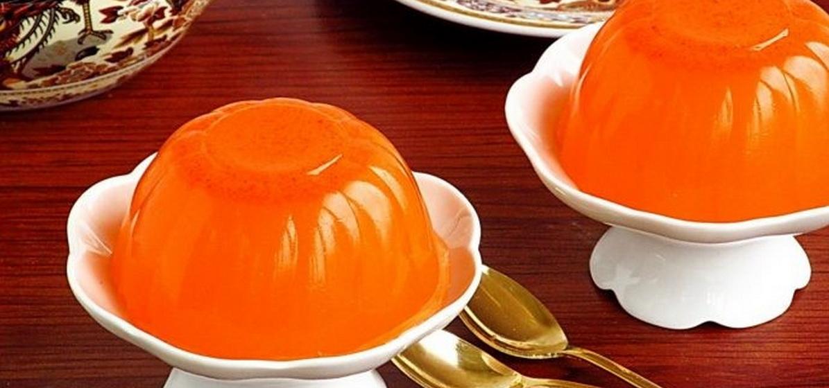 Вкусно и просто. Морковное желе «Янтарь»
