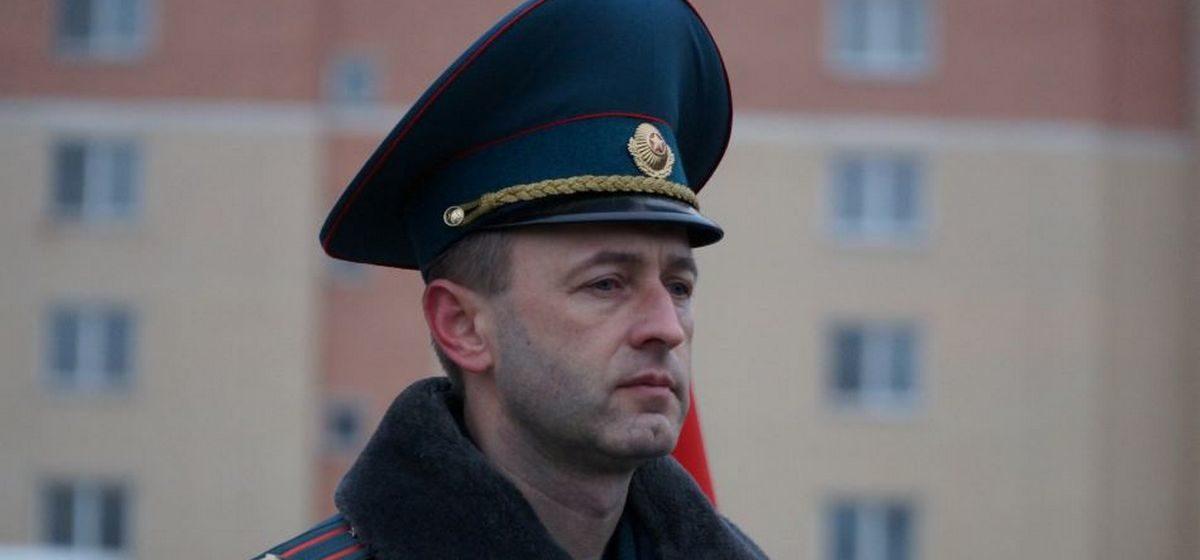 Назначен новый начальник Барановичского ГРОЧС