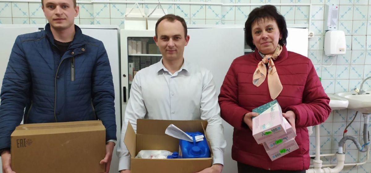 Прихожане костела в Городище оказали помощь местной бригаде скорой помощи