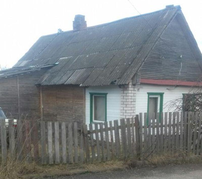 Так выглядит самый дешевый дом с подведенными к нему коммуникациями. Фото: re.kufar.by