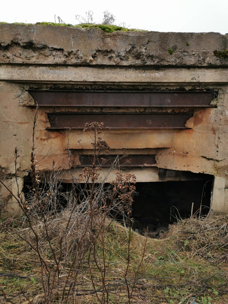 Балки в бункере. Фото: Виктор Борисевич