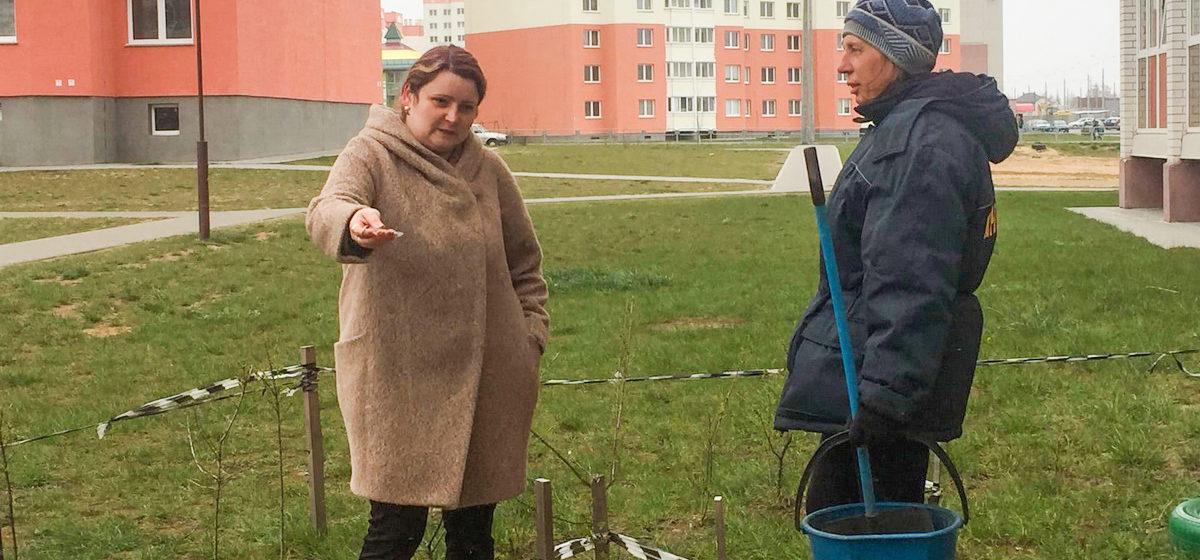 Жительница Барановичей высадила цветы и кусты под окнами многоэтажки, а власти обвинили ее в захвате земли и требуют все убрать