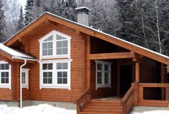 Качественные деревянные дома от «Студия Клееного Бруса»