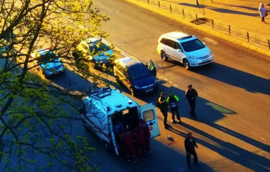 Место ДТП. Фото предоставлено очевидцем