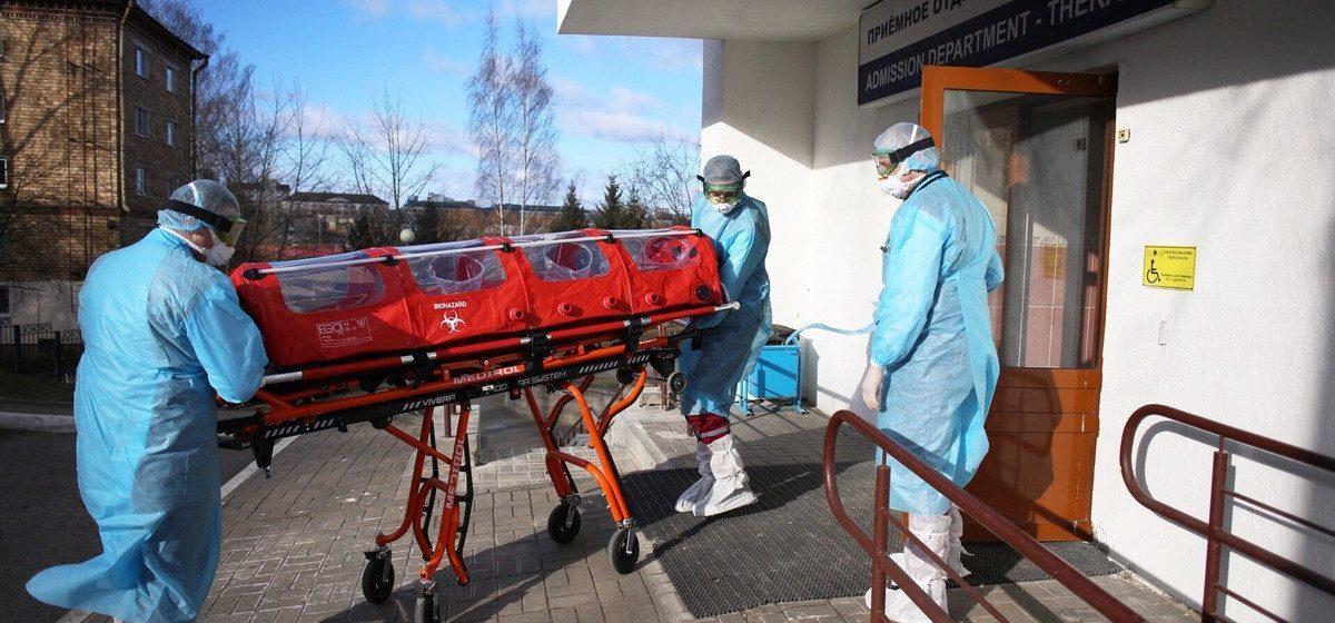 В Витебске еще одна смерть от коронавируса: там умерла пожилая женщина