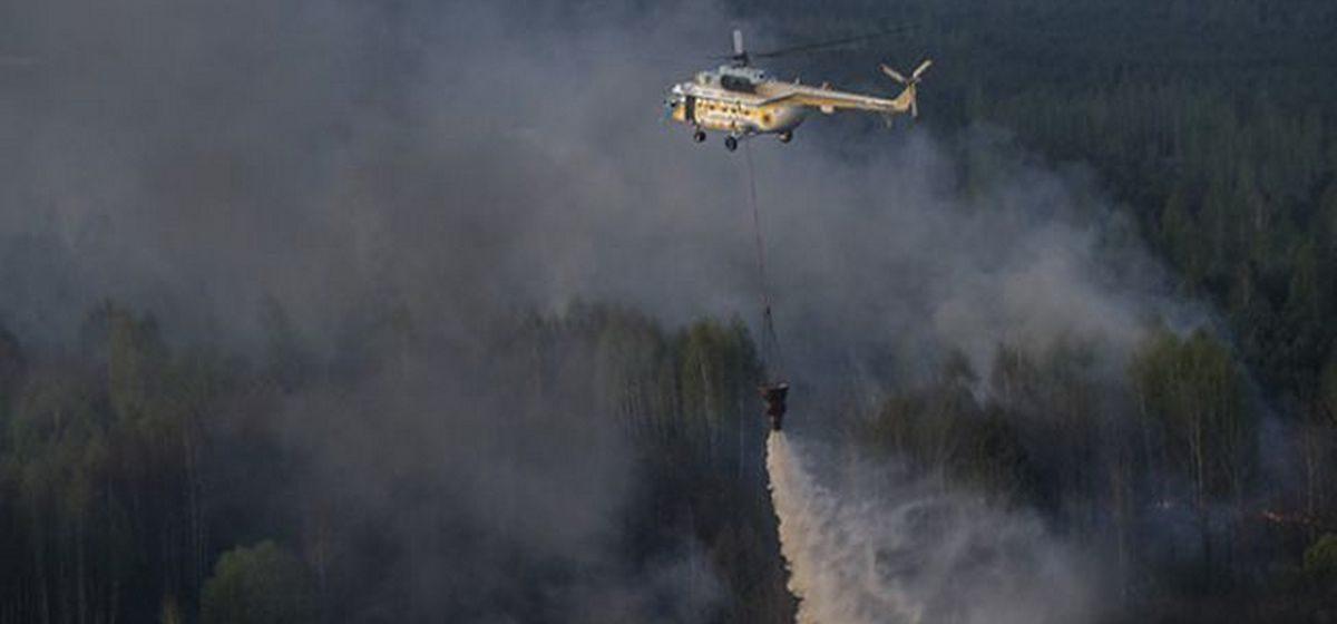 Пожар в чернобыльской зоне стремительно распространяется и подходит к хранилищам радиоактивных отходов