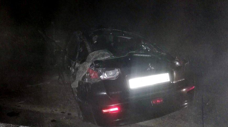 Два человека погибли в ночной аварии под Кореличами