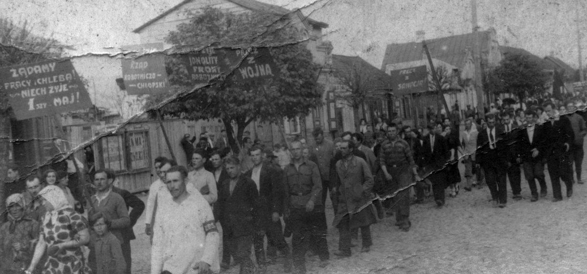 Разгон демонстрации конной полицией и новые манеры главы горисполкома. О чем писали барановичские газеты в мае 1930 и 2000 годов