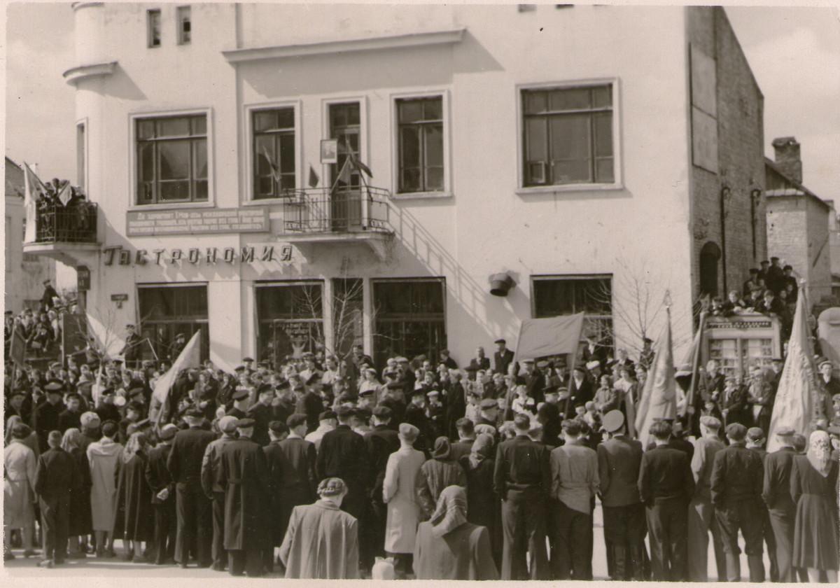 ! мая 1958 года в Барановичах. Фото из коллекции Руслана Ревяко