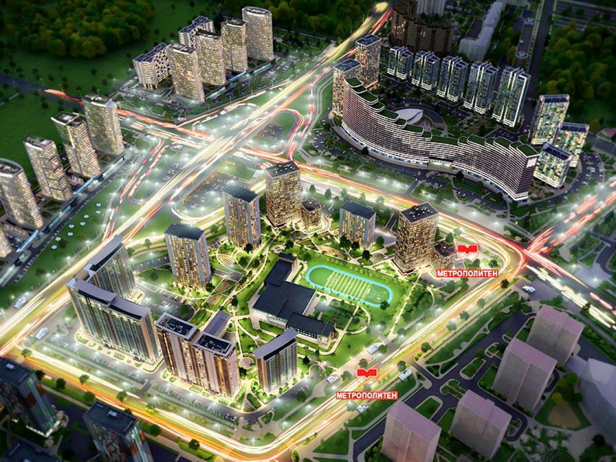 Две новые станции метро будут построены в границах комплекса