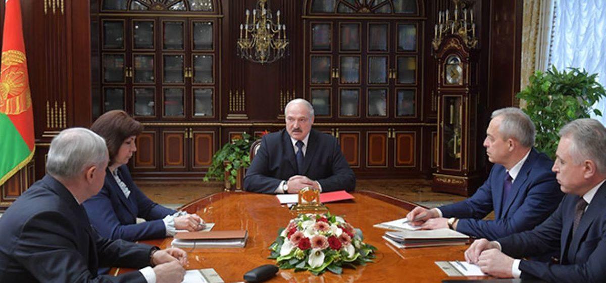 Лукашенко пообещал сформировать новое правительство еще до выборов