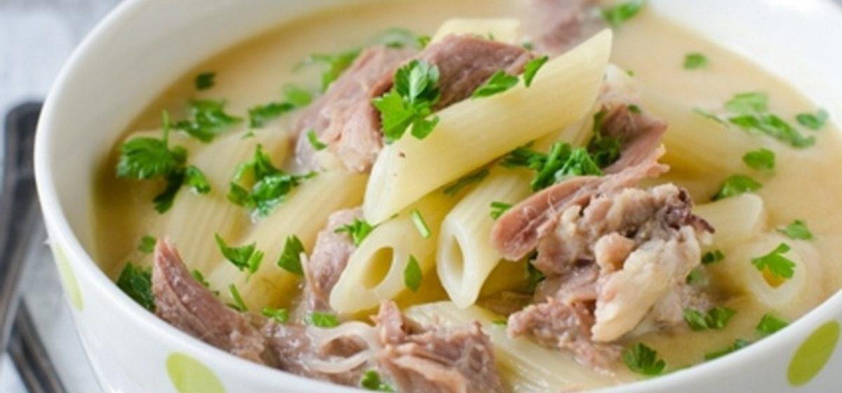 Вкусно и просто. Куриный крем-суп с макаронами