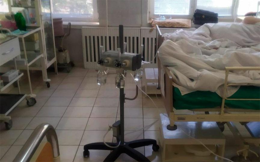 Мобильную станцию подачи кислорода установили в одной из больниц Барановичей