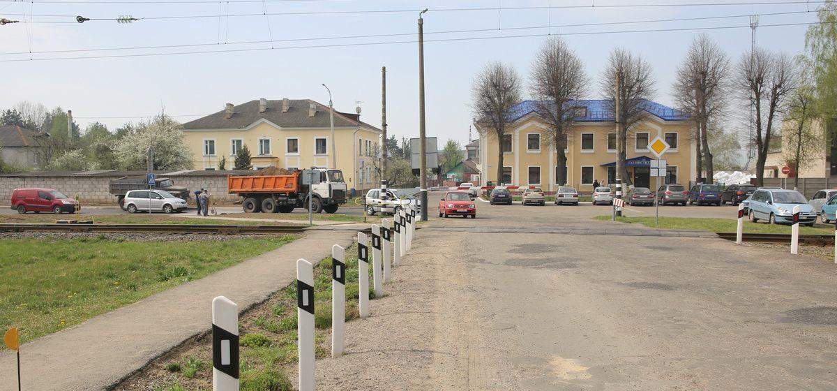 Железнодорожный переезд в Барановичах закроют на два дня