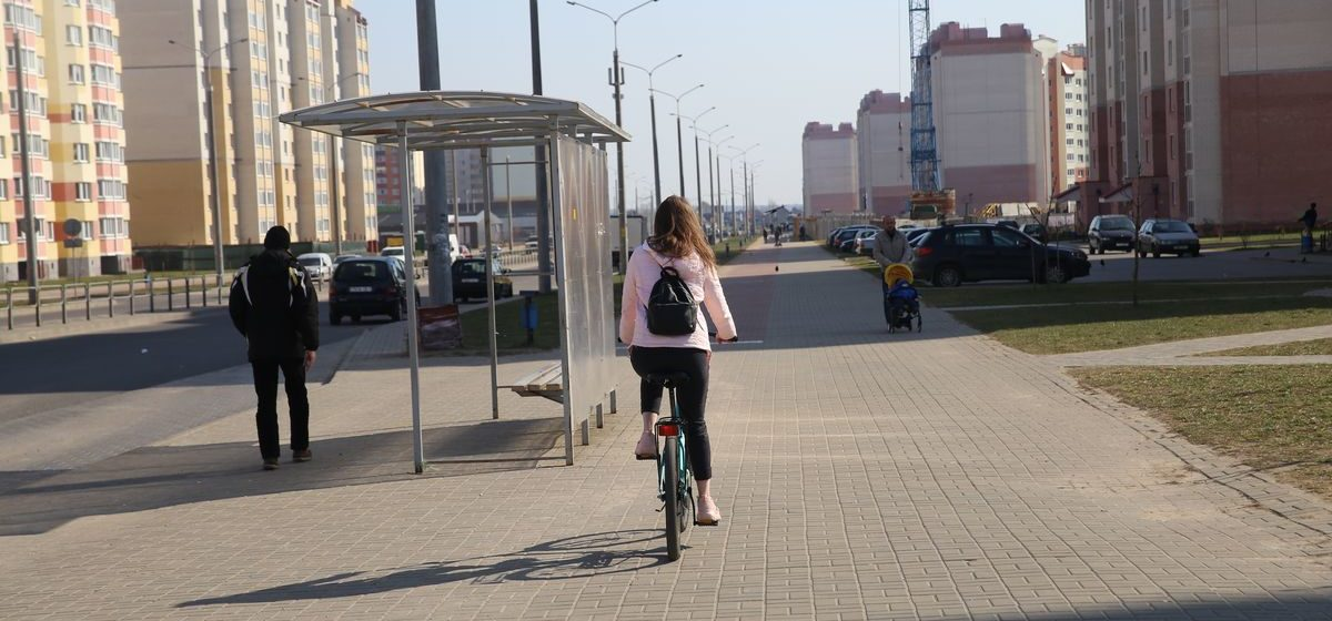 Разработана концепция велосипедного движения в Барановичах. Есть схема