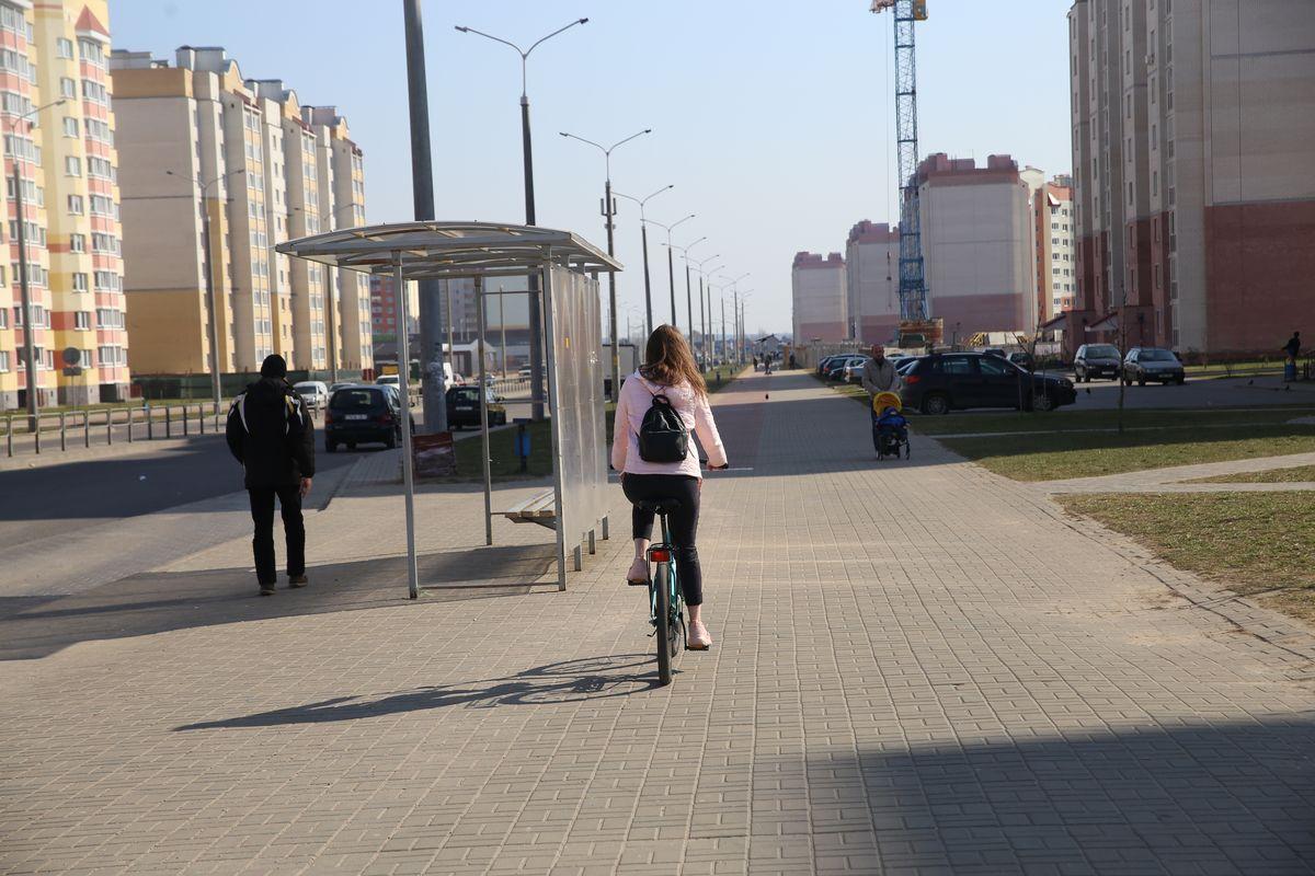 Мое путешествие началось с улицы Франциска Скорины. Фото: Андрей БОЛКО