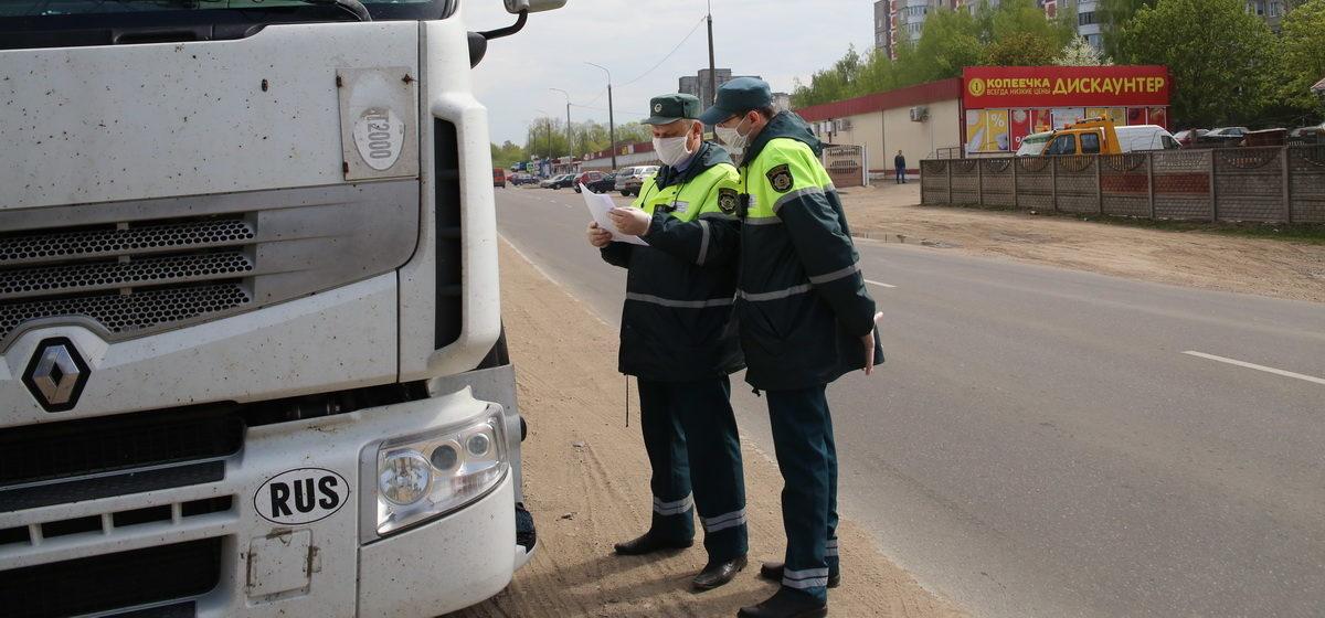 Что можно, а что нельзя делать водителям-международникам при транзите через Беларусь