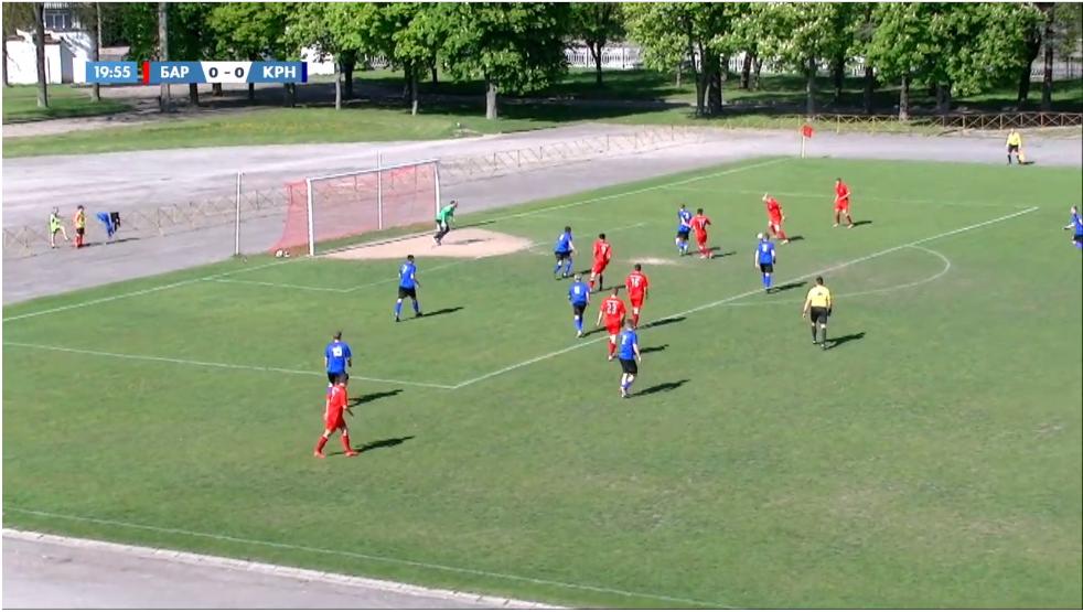 Как барановичские футболисты сыграли в матче чемпионата страны на стадионе «Локомотив»?