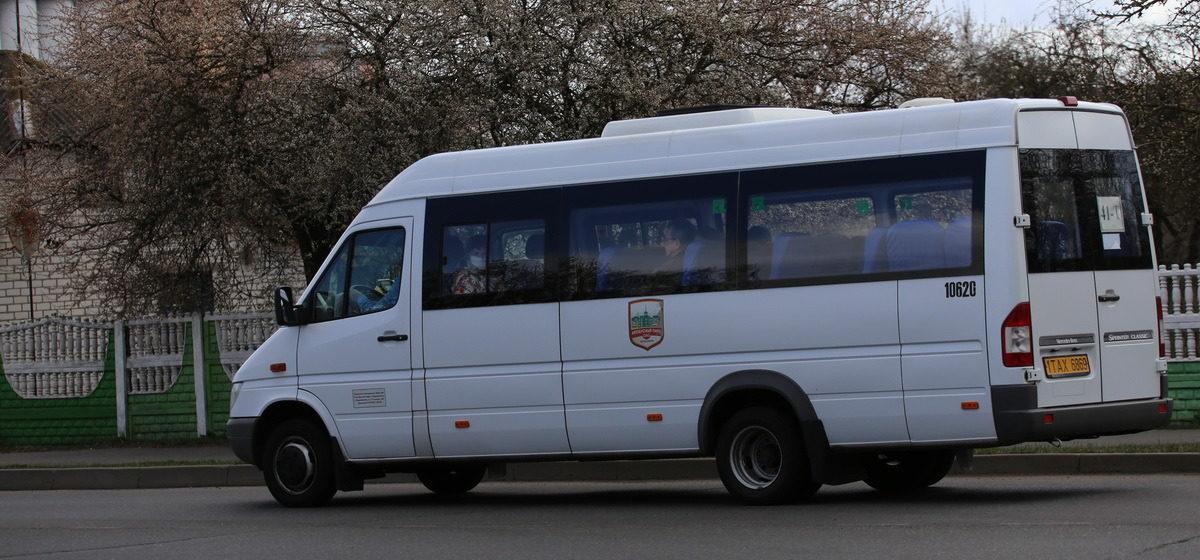 В Барановичах автопарк корректирует расписание движения маршруток №40-Т и №41-Т