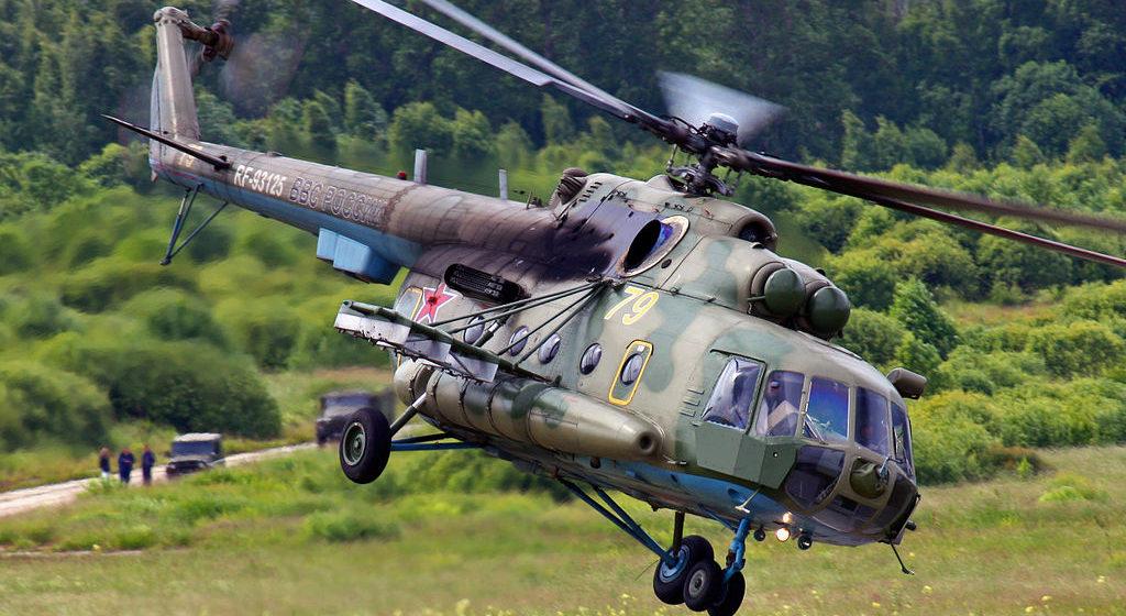 Военный вертолет Ми-8 разбился в Подмосковье – экипаж погиб