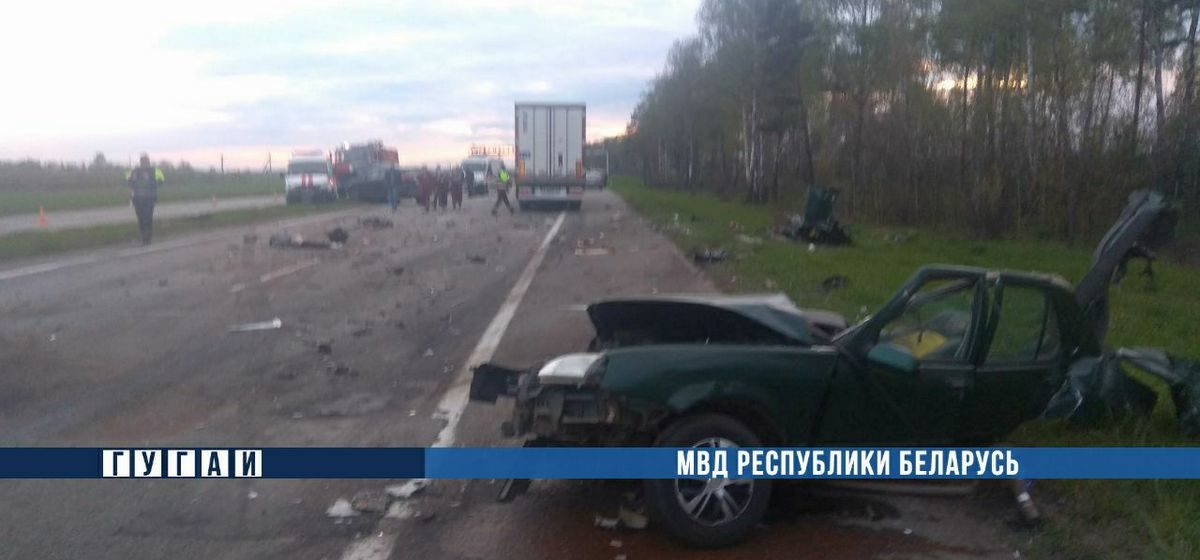 Шесть человек погибли в страшном ДТП в Минской области