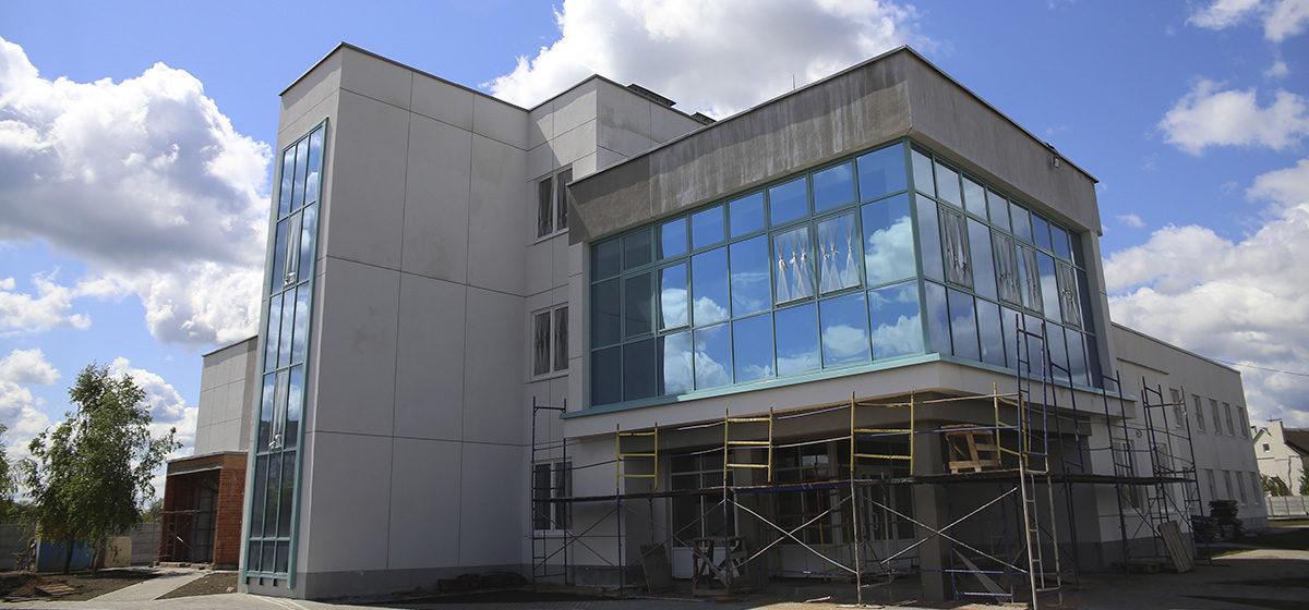 Как идет строительство новой станции скорой помощи в Барановичах. Фоторепортаж