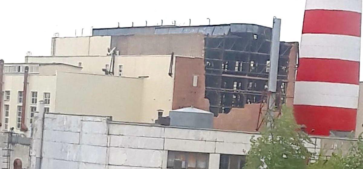 Обвалилась или разобрали? Что случилось со стеной Барановичской ТЭЦ