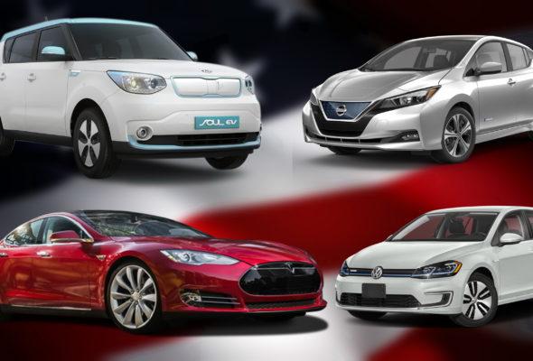 ТОП-15 электромобилей из США: цены, характеристики, советы