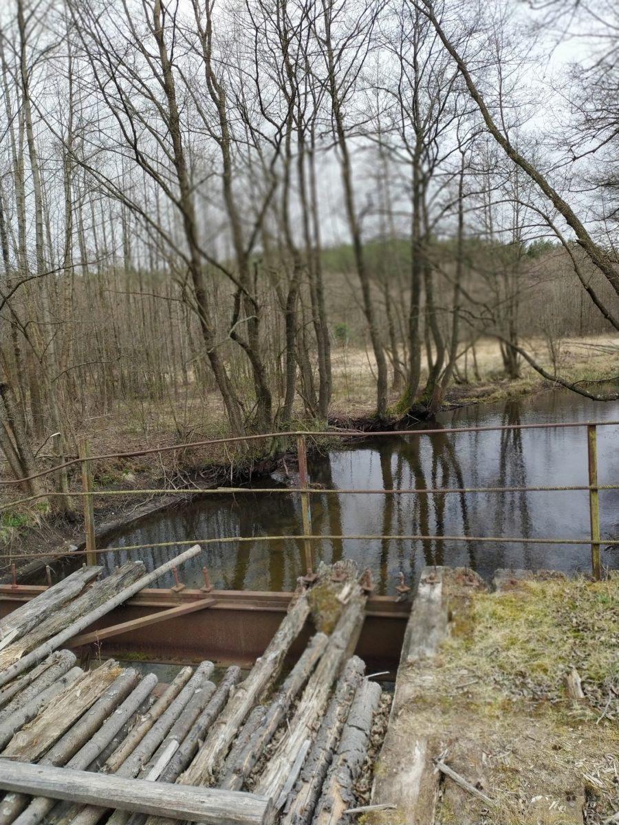 Мост через речку Исса возле деревни Ягодная. Фото: читатель Intex-press