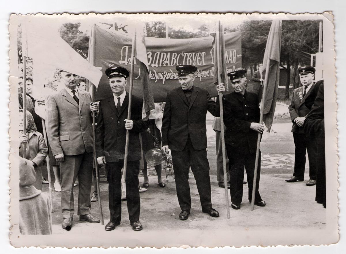 Барановичские железнодорожники 1 мая 1968 года