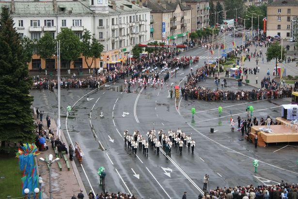 Открытие праздника Барановичская весна-2006. Фото: архив Intex-press