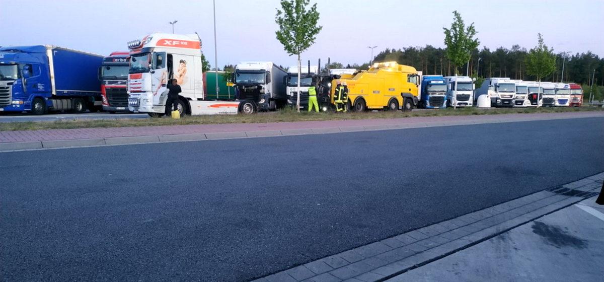 Пьяный водитель-белорус задавил в Германии коллегу-дальнобойщика из Украины