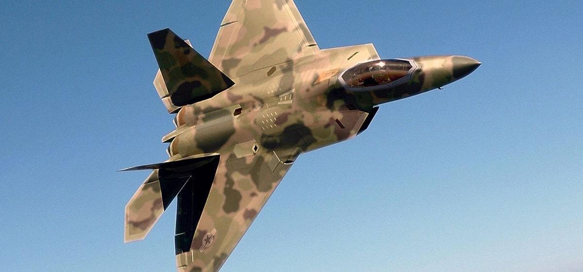 В США разбился истребитель пятого поколения F-22