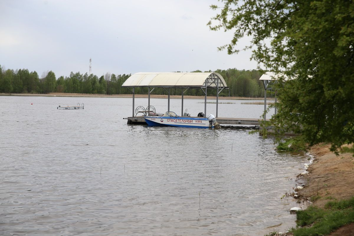 Спасательный пост ОСВОД на водохранилище Мышанка. Фото: Андрей БОЛКО