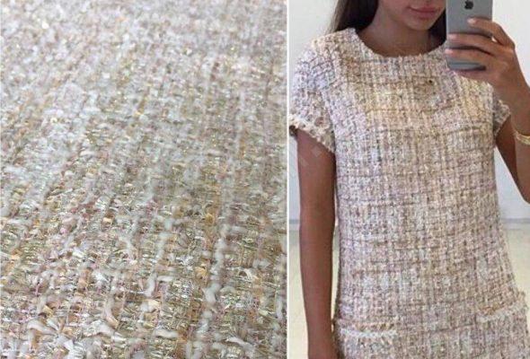 Твидовые ткани для создания элегантных нарядов и верхней одежды