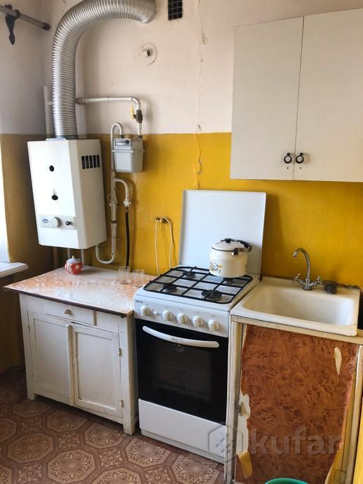 Кухня в одной из съемных квартир стоимостью 100 долларов в месяц в Барановичах