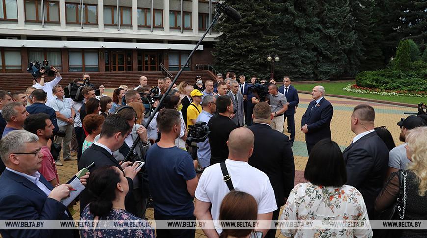 Лукашенко: 9 августа все решится. И не думайте, что я пойду на какую-то бешеную фальсификацию