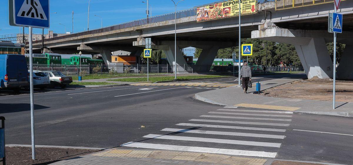 В Барановичах с 22 июня перекрыли участки двух улиц. Смотрите, как организован объезд