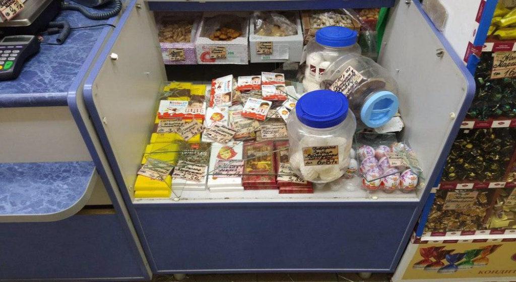 В Барановичах иностранец через чердак пробрался в магазин и попытался его ограбить. Не получилось