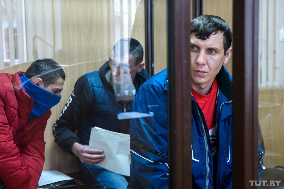 Валентин Бушнин на суде в Слуцке Фото: Сергей Балай, TUT.BY