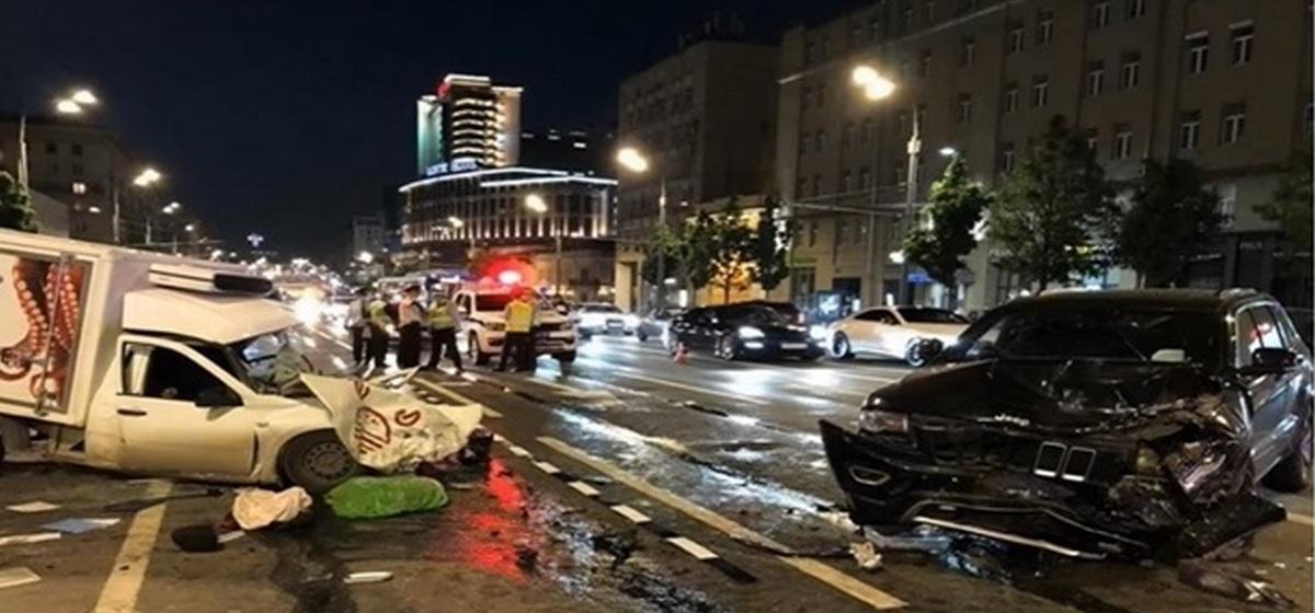 ДТП с участием Михаила Ефремова. Фото: korrespondent.net