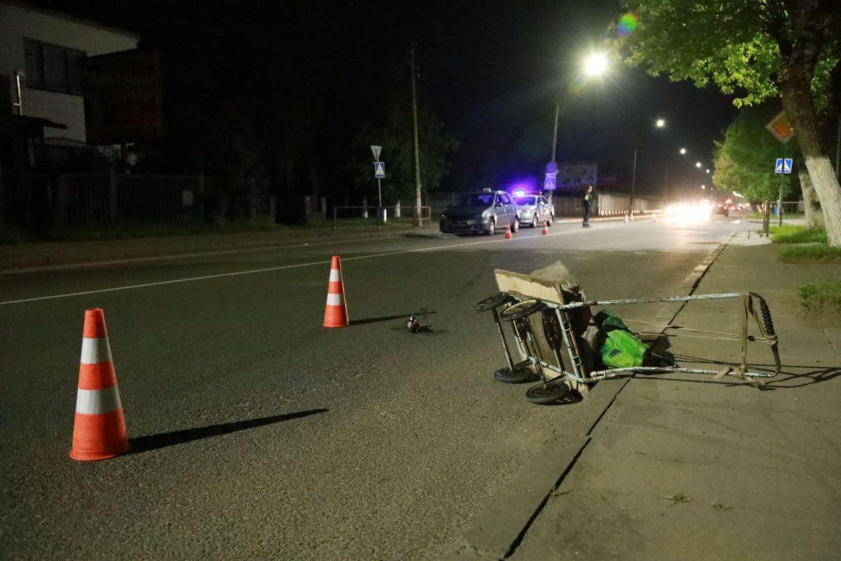 Авария на улице Чернышевского. Фото: Александр КОРОБ
